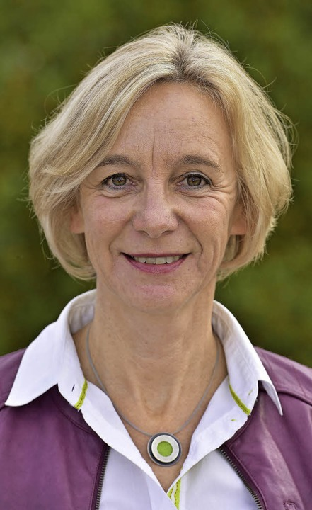 Moderatorin Ulrike Schnellbach   | Foto: Thomas Kunz