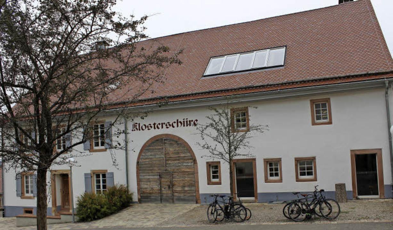 Geglückte Sanierung: Die Klosterscheune in Oberried   | Foto: Erich Krieger