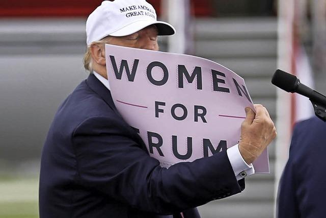 Immer mehr Frauen beschuldigen Trump