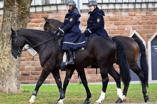 Einsätze der Reiterstaffel sorgen für mehr Austausch mit Bürgern