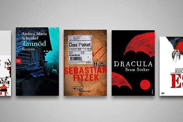 Die 5 gruseligsten Bücher für Halloween