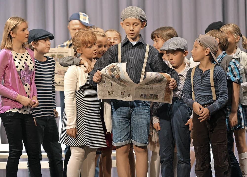 Das Kindermusical Thymus und die Flott...n voll besetztes Haus der Begegnung.    | Foto: Martin Eckert/Peter Gerigk (2)
