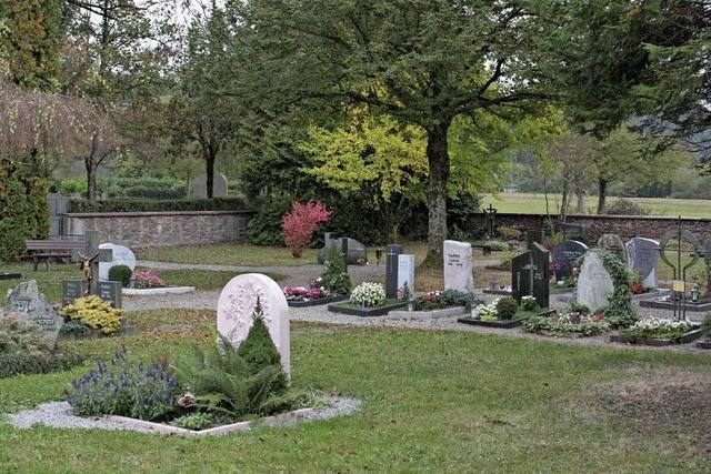 Wunsch nach Urnengräbern