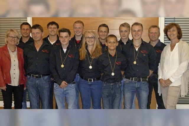 Medaillen und Meistertitel für Tauzieher aus Eschbach