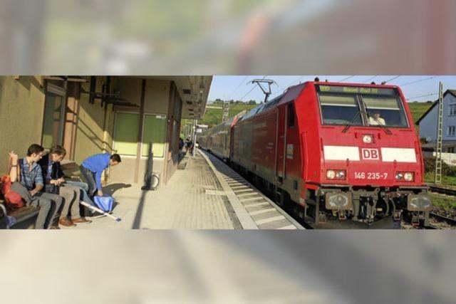 Fürs Erste nicht viel mehr Zughalte