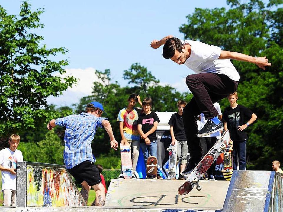 Auch Skateparks stehen auf der Wunschliste.  | Foto: Thomas Kunz