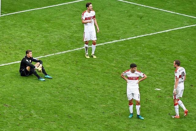 VfB Stuttgart geht in Dresden mit 0:5 unter
