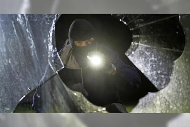 Einbrecher wurde in flagranti erwischt