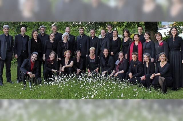 Chorwerken der europäischen Romantik mit dem Sheppard Ensemble Freiburg in Hinterzarten