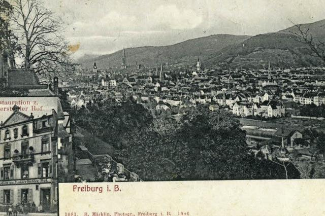 """An der Lehener Straße stand bis zum Bombenangriff von 1944 der """"Kaiserstühler Hof"""""""
