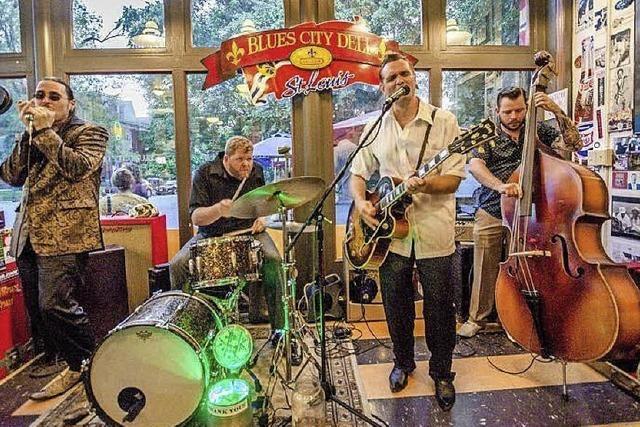 Doug Deming & The Jewel Tones feat. Dennis Gruenling in Müllheim
