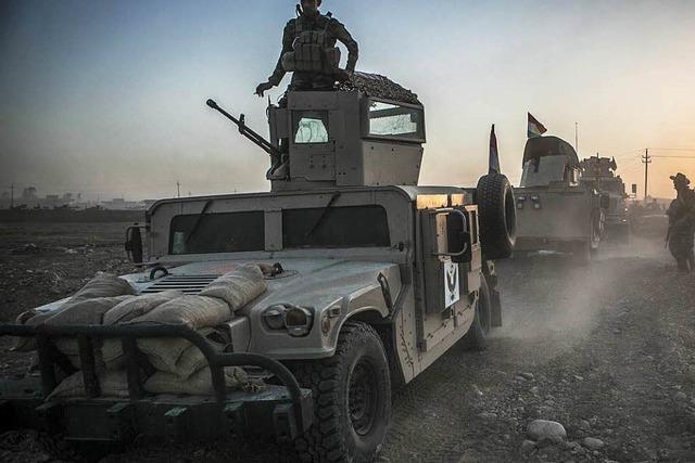 Armee beginnt Offensive auf IS-Hochburg Mossul