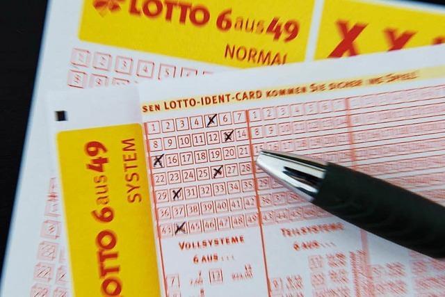 Tipper aus dem Südwesten knackt Lotto-Jackpot: 13,5 Millionen Euro