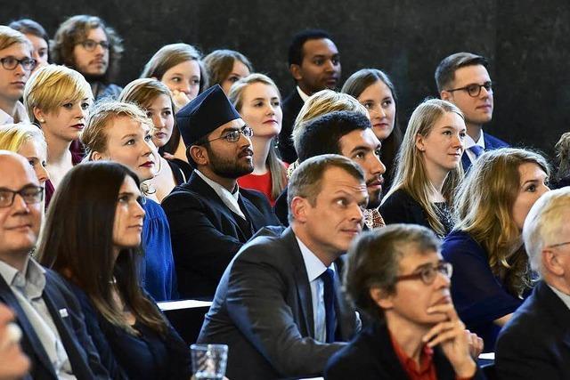 Die ersten 50 Absolventen des University College Freiburg haben ihren Abschluss gemacht