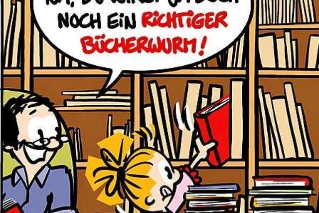 Lucy Backfisch: Von wegen Bücherwurm