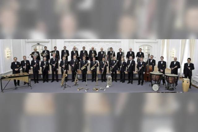 Landespolizeiorchester Baden-Württemberg konzertiert in Höchenschwand
