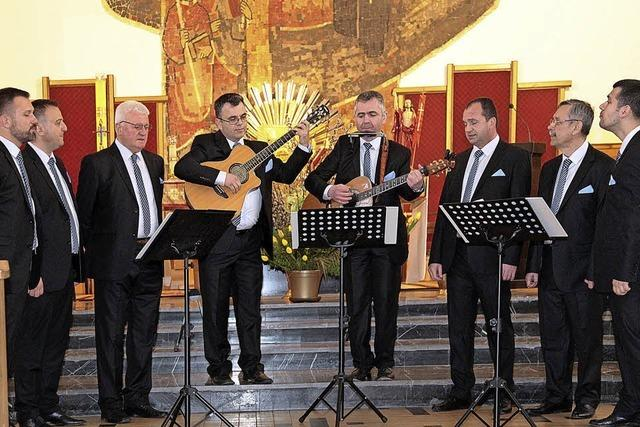 Männerchor Lipa in Kenzingen