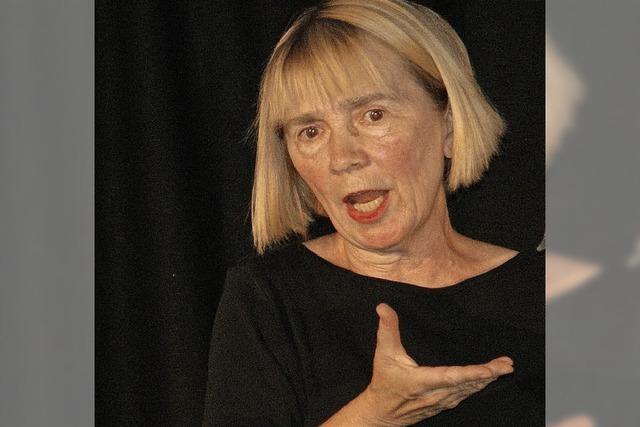 Mit dem Theater Karawane - Rosa Müller-Gantert - Die Schmökerratte.In Löffingen