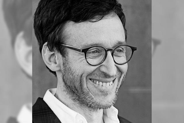 Thomas Meyer liest im Rahmen der Literaturtage in der Mediathek Wehr