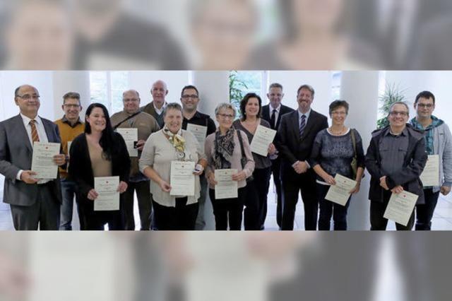 Die Stadt dankt Blutspendern