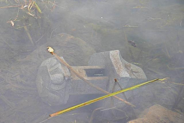 Vandalen demolieren Brücke und Lampe im Japanischen Garten