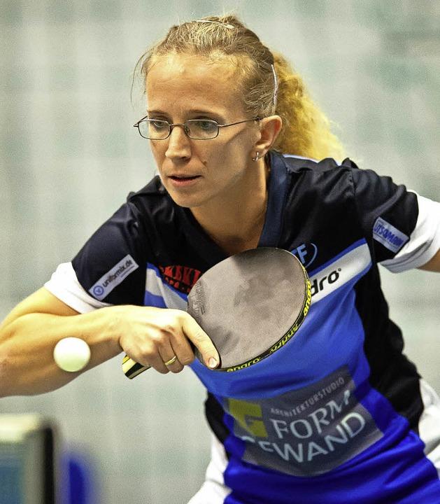 Katja Wiedemann war mit dem dritten Stühlinger Frauenteam erfolgreich.   | Foto: WoLfGang Scheu