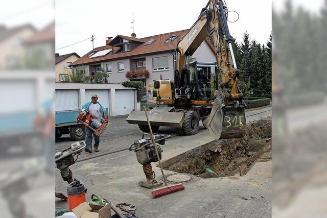 Kanalarbeiten bis Ende Oktober