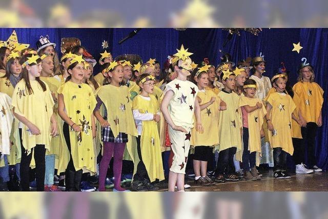 Aus zwölf Sängern wurden 150