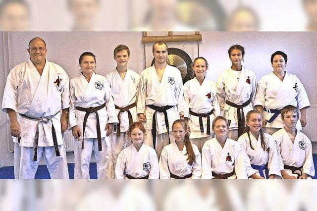 Wiesentäler Karateka bei EM