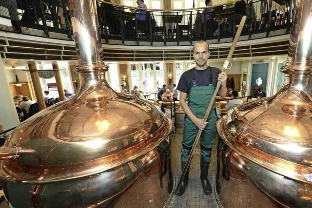 Gabriel Vierling ist der beste Nachwuchsbierbrauer im Bezirk der Handwerkskammer Freiburg