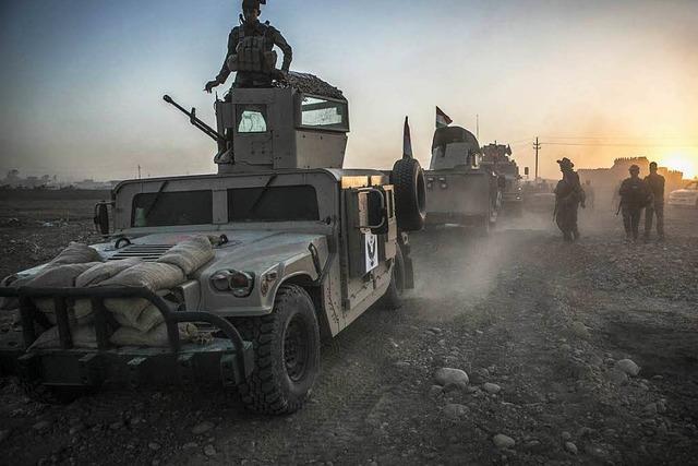 Irakische Streitkräfte greifen IS-Hochburg Mossul an