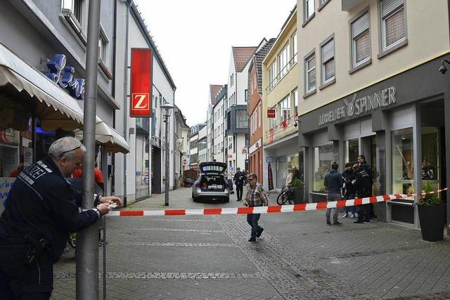 Überfall auf Juwelier Spinner: Verkäuferin hatte Todesangst
