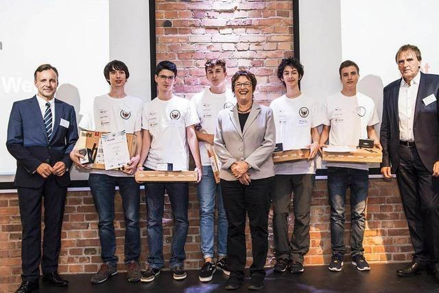 Freiburger Jung-Hacker belegt mit Schülerteam ersten Platz in nationalem Wettbewerb