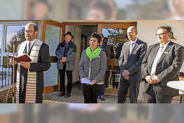 Tag der offenen Tür nach Vollendung der Erweiterung des Kindergartens St. Bernhard