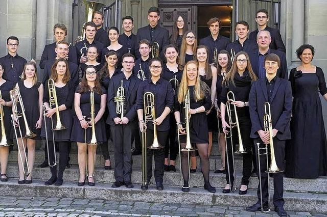 Jugendposaunenchor Südbaden zu Gast in Müllheim