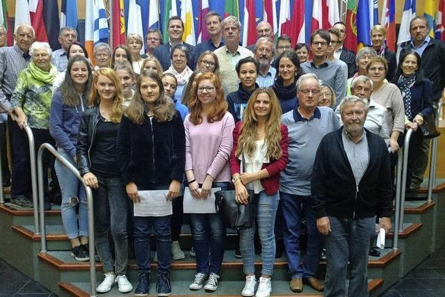 Unterwegs: Im Europäischen Parlament
