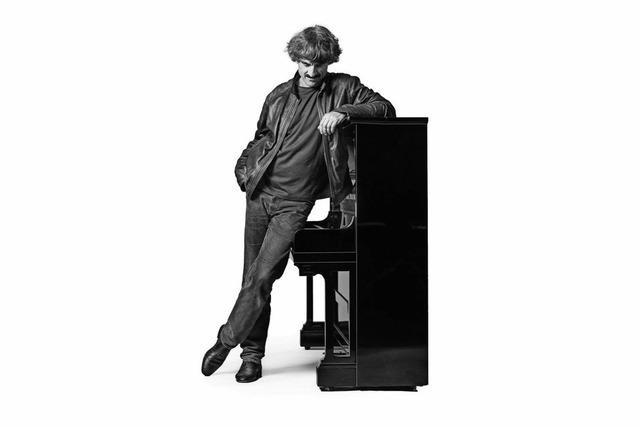 Pianist Thomas Scheytt im Restaurant San Marino