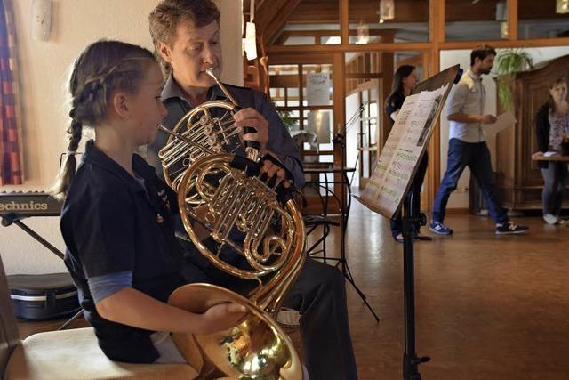 Kinder vor beim Musikjugendtag