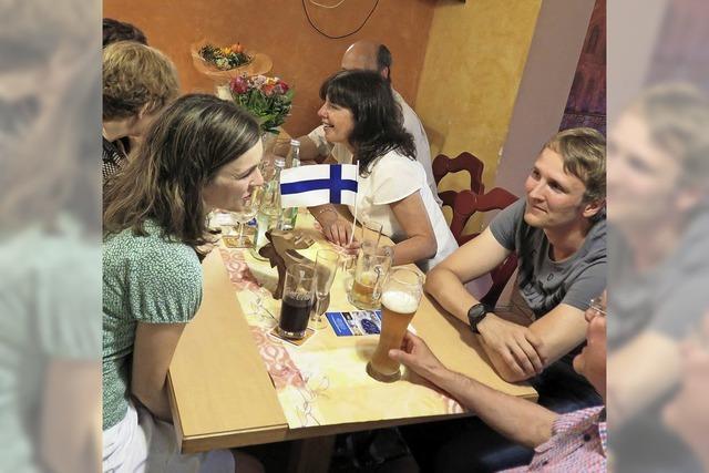 Stammtisch in sieben Sprachen