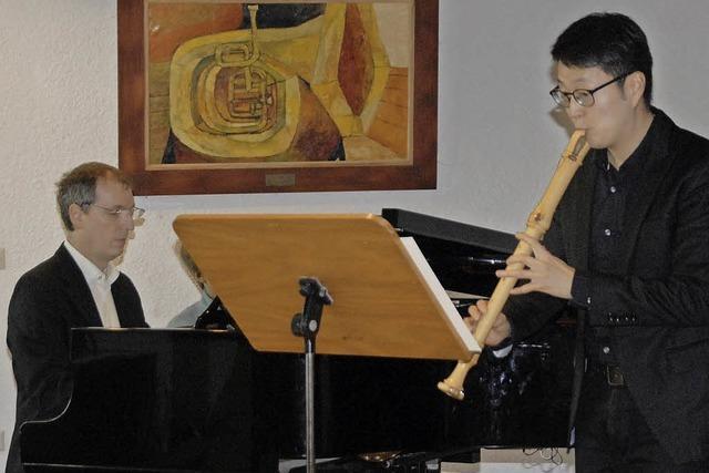 Musiklehrer geben Kostprobe