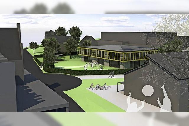 Gemeinderat segnet die Entwurfsplanung für den neuen Kindergarten ab