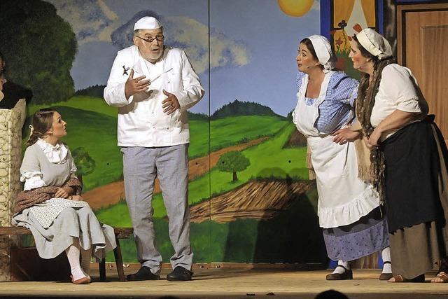 Belle erobert die Herzen des Publikums