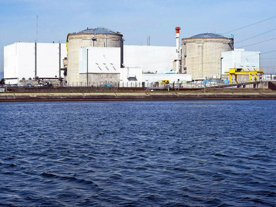 Auch Reaktor 1 des AKW Fessenheim muss außerplanmäßig vom Netz.  | Foto: AFP