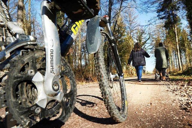 Biker und Wanderer: Grün-Schwarz will es mit Leitsätzen regeln