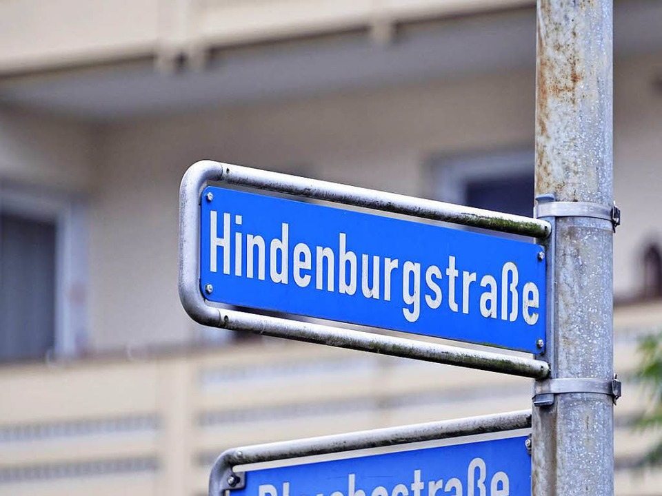 Die Hindenburgstraße gehört zur  sogenannten Kategorie A.    Foto: Michael Bamberger