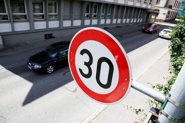 Goethestraße wird Tempo-30-Zone