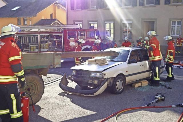 Feuerwehr zeigt breites Spektrum ihres Könnens