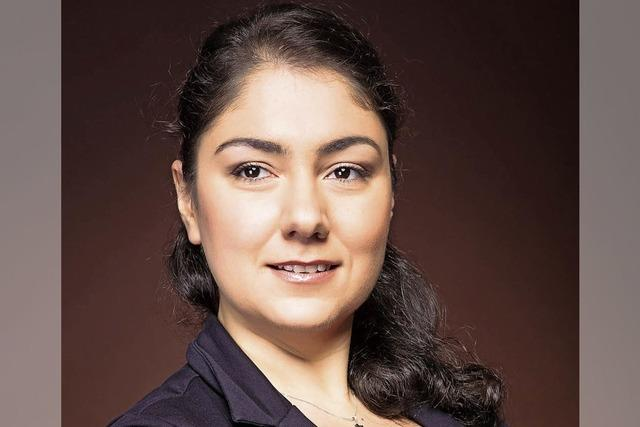 Susanna Kadzhoyan in Laufen