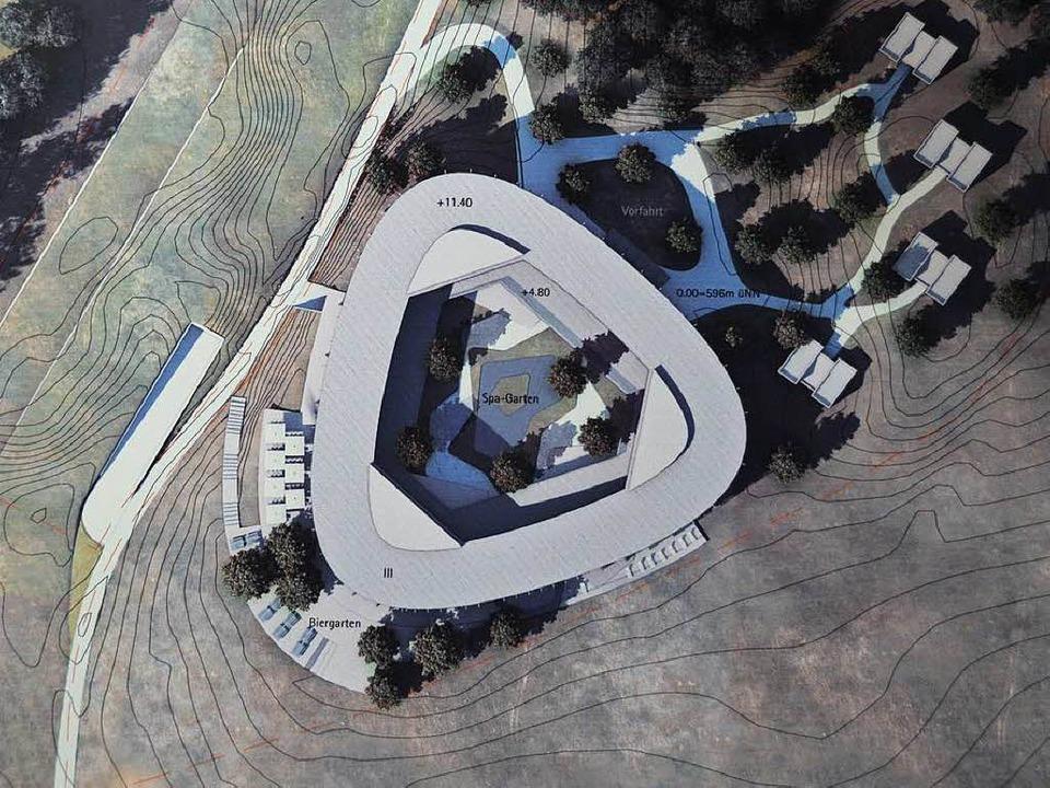 Der Entwurf von Gerkan Marg und Partner, Berlin  | Foto: Andrea Gallien
