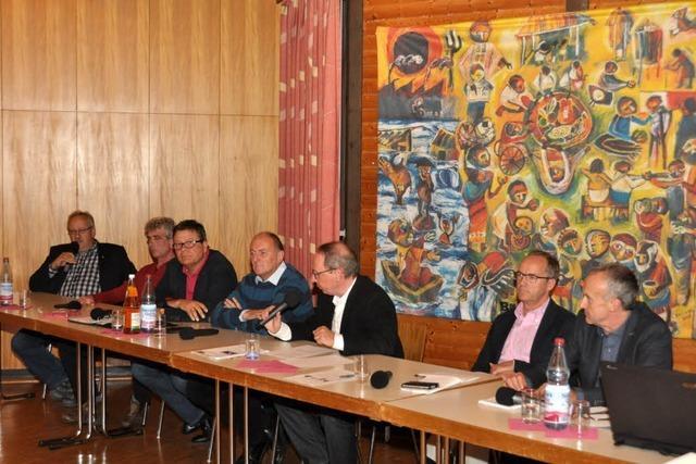 Podiumsdiskussion: Driftet Breisach nach rechts ab?